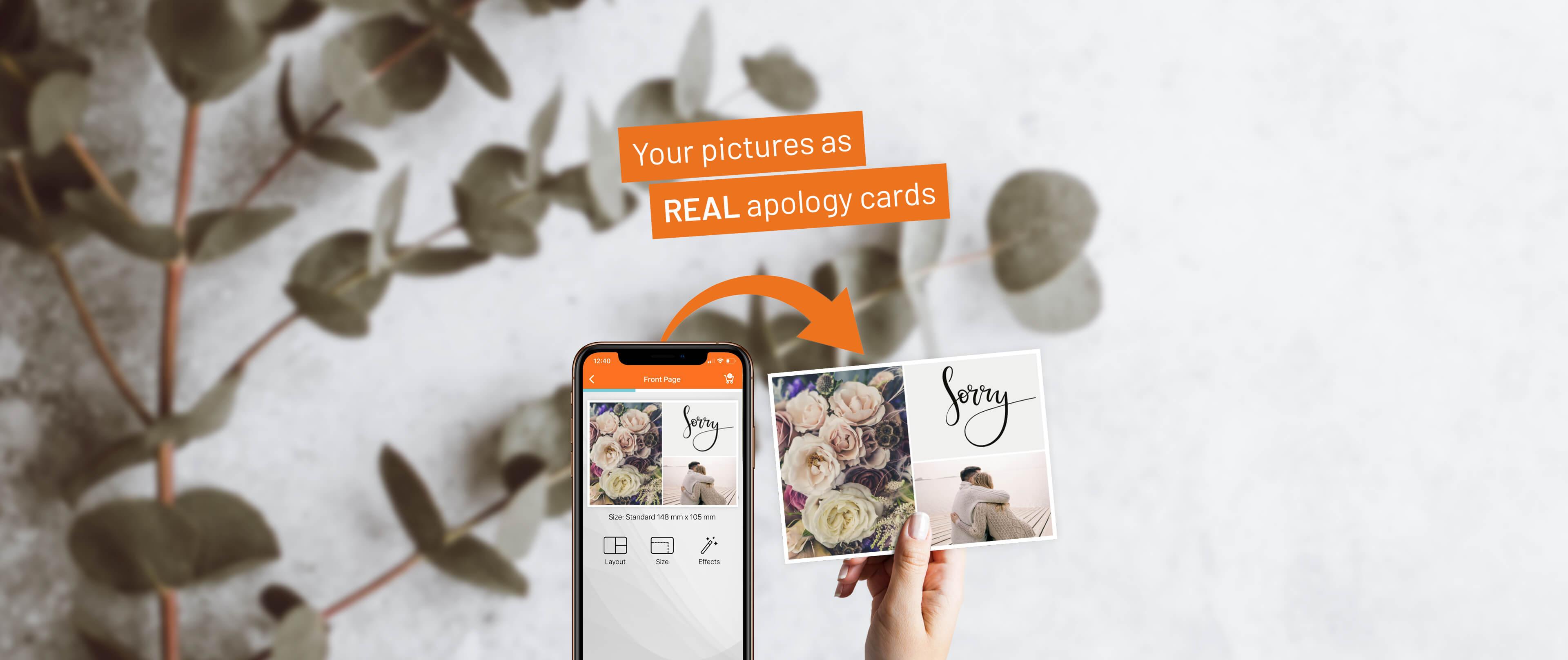 Write Your Individual Apology Cards Postando