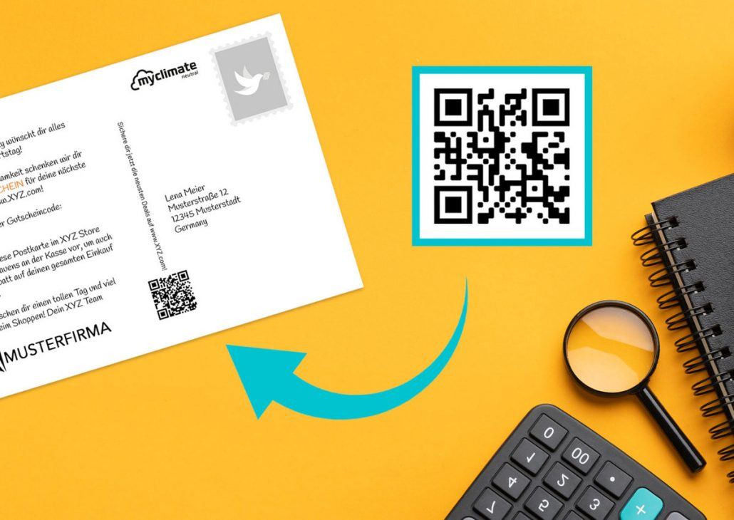 Kundenbindung mit Rabatten via Postkarten