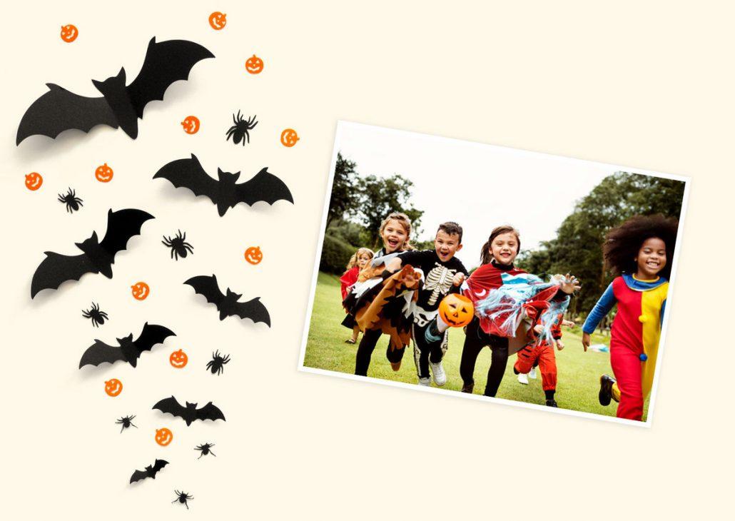Halloween Fotoshooting mit Kindern