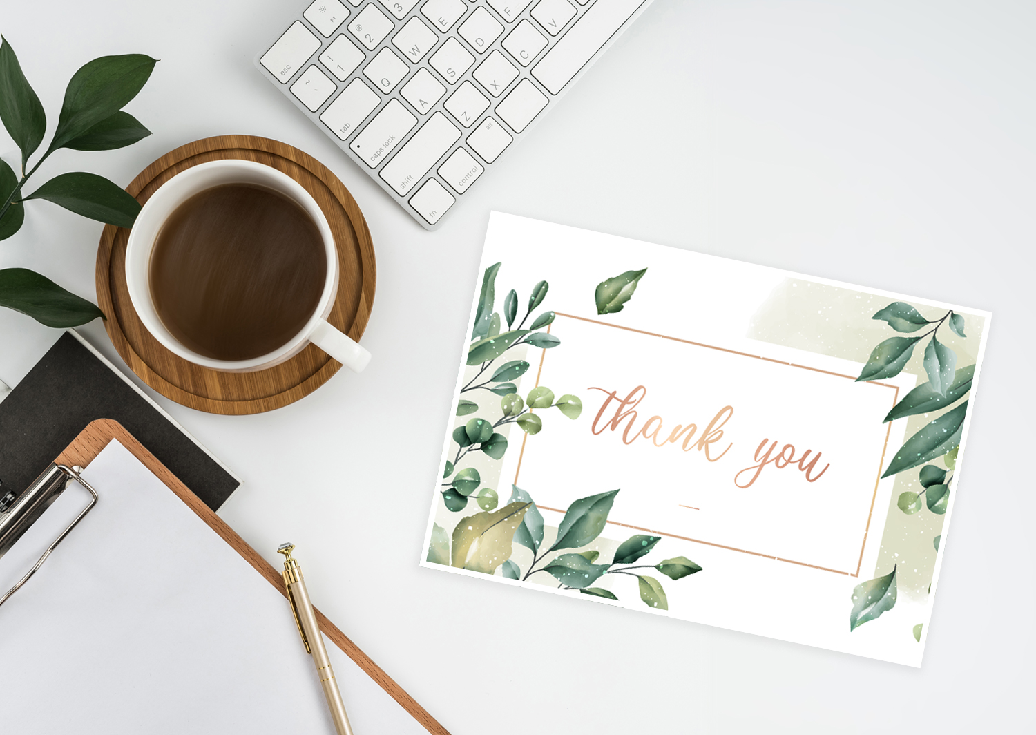 say thank you: 4 DIY Ideas for Your Thank You Card
