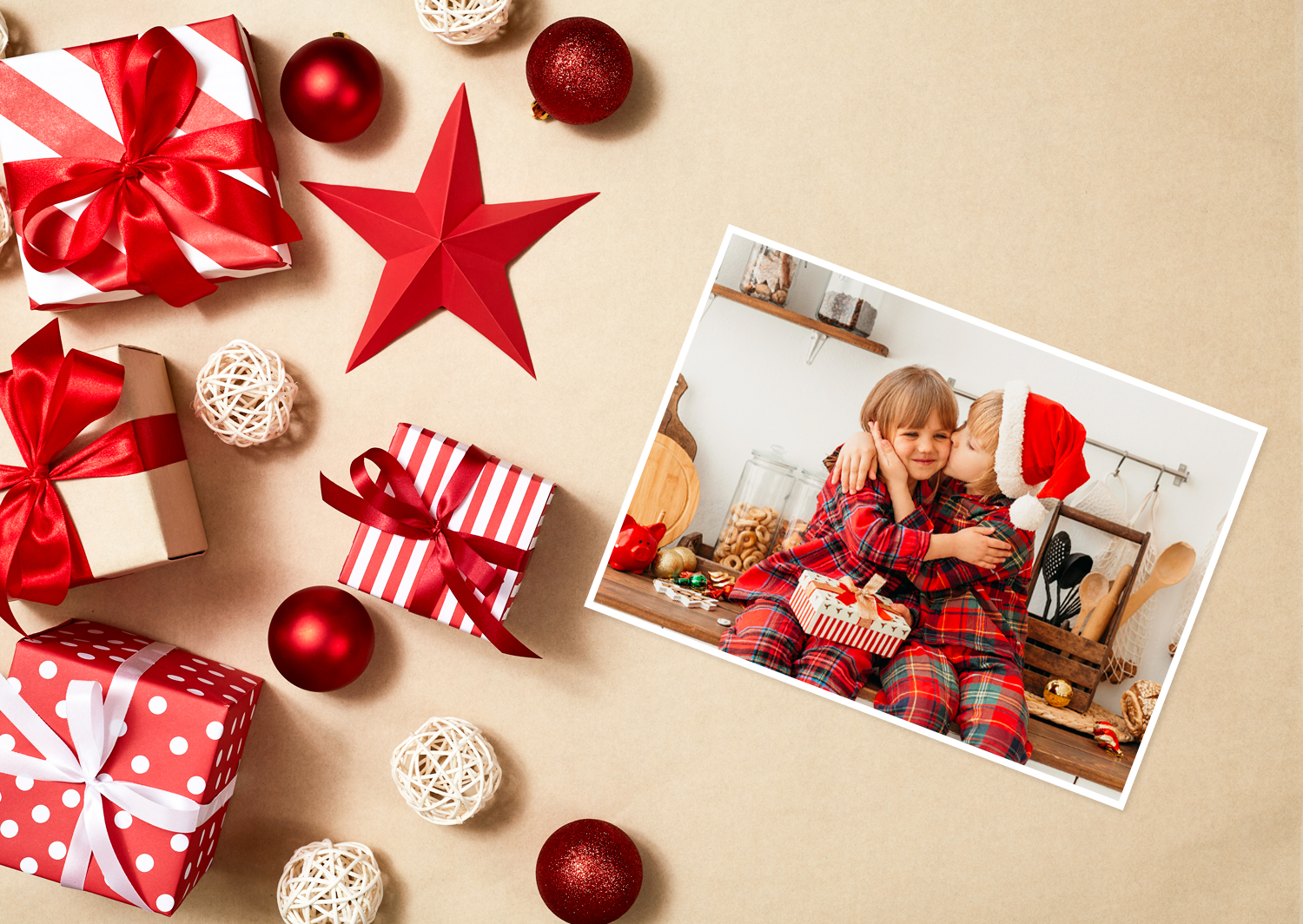 Design options for your Christmas card